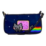 Nyan Cat Shoulder Clutch Bags Front