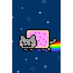 Nyan Cat 5.5  x 8.5  Notebooks Back Cover Inside