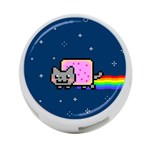 Nyan Cat 4-Port USB Hub (One Side) Front