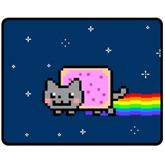 Nyan Cat Fleece Blanket (medium)