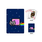 Nyan Cat Playing Cards (Mini)  Back
