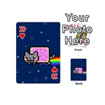 Nyan Cat Playing Cards 54 (Mini)  Front - Heart10