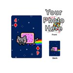 Nyan Cat Playing Cards 54 (Mini)  Front - Diamond4