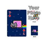 Nyan Cat Playing Cards 54 (Mini)  Front - Diamond7