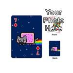 Nyan Cat Playing Cards 54 (Mini)  Front - Diamond7