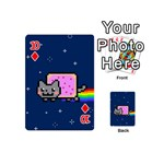 Nyan Cat Playing Cards 54 (Mini)  Front - Diamond10
