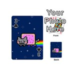 Nyan Cat Playing Cards 54 (Mini)  Front - Club3