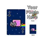 Nyan Cat Playing Cards 54 (Mini)  Front - Club4