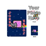 Nyan Cat Playing Cards 54 (Mini)  Front - Joker2