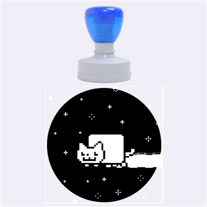 Nyan Cat Rubber Round Stamps (Large)