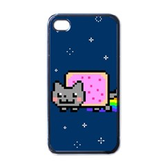 Nyan Cat Apple iPhone 4 Case (Black)