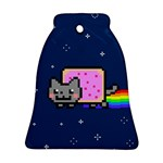 Nyan Cat Bell Ornament (2 Sides) Back