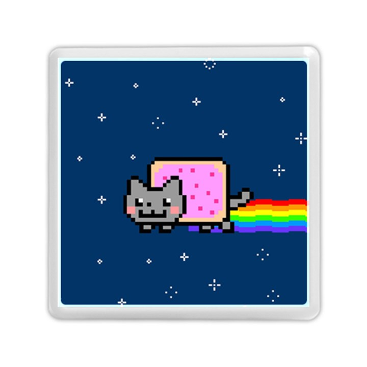Nyan Cat Memory Card Reader (Square)
