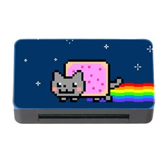 Nyan Cat Memory Card Reader with CF