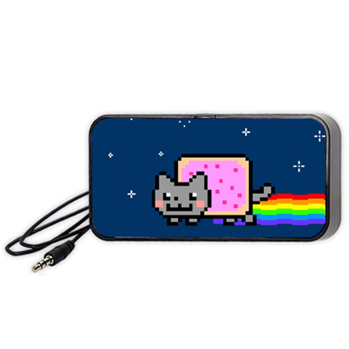 Nyan Cat Portable Speaker (Black)