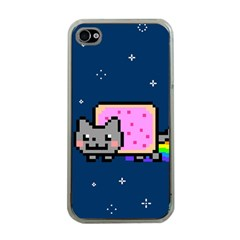 Nyan Cat Apple iPhone 4 Case (Clear)