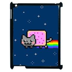 Nyan Cat Apple Ipad 2 Case (black)