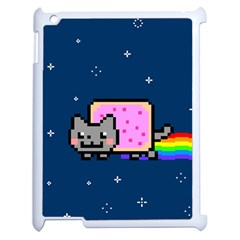 Nyan Cat Apple iPad 2 Case (White)