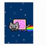 Nyan Cat Small Garden Flag (Two Sides) Back