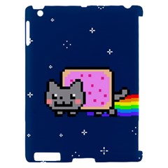 Nyan Cat Apple iPad 2 Hardshell Case (Compatible with Smart Cover)