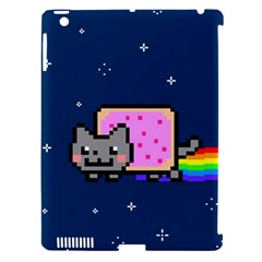 Nyan Cat Apple Ipad 3/4 Hardshell Case (compatible With Smart Cover)