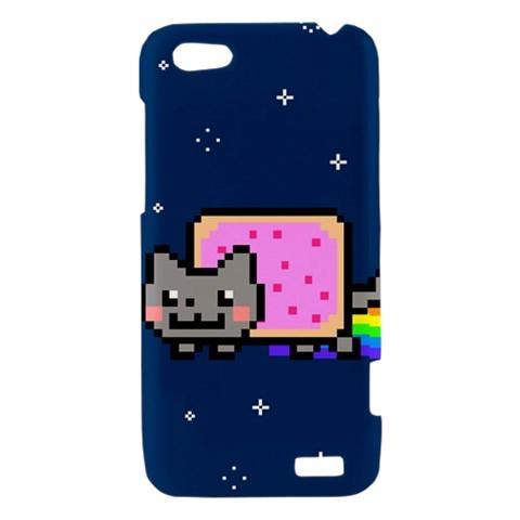 Nyan Cat HTC One V Hardshell Case