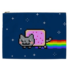 Nyan Cat Cosmetic Bag (xxl)