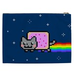 Nyan Cat Cosmetic Bag (XXL)  Back