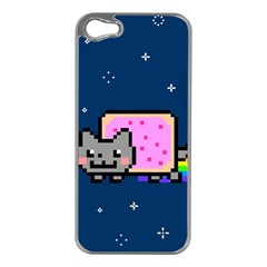 Nyan Cat Apple iPhone 5 Case (Silver)