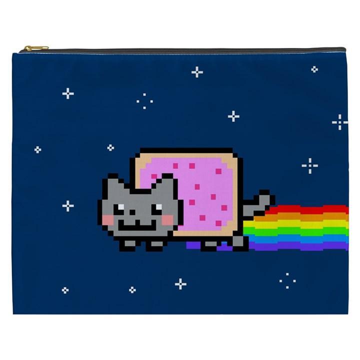 Nyan Cat Cosmetic Bag (XXXL)