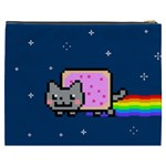 Nyan Cat Cosmetic Bag (XXXL)  Back