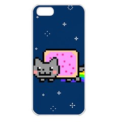 Nyan Cat Apple Iphone 5 Seamless Case (white)