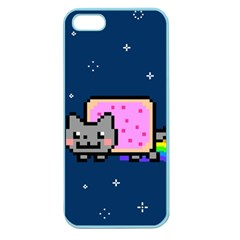 Nyan Cat Apple Seamless Iphone 5 Case (color)