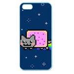 Nyan Cat Apple Seamless iPhone 5 Case (Color) Front