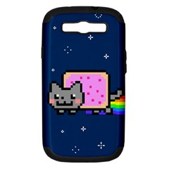 Nyan Cat Samsung Galaxy S III Hardshell Case (PC+Silicone)