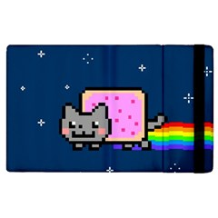 Nyan Cat Apple Ipad 2 Flip Case