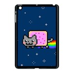 Nyan Cat Apple iPad Mini Case (Black) Front