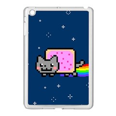Nyan Cat Apple Ipad Mini Case (white)