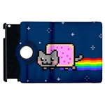 Nyan Cat Apple iPad 2 Flip 360 Case Front