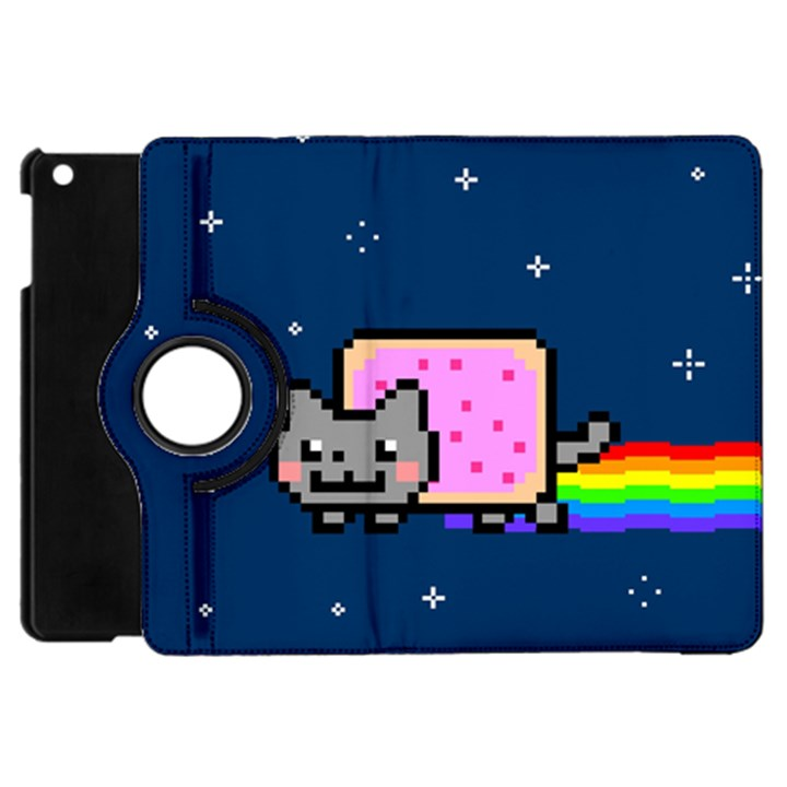 Nyan Cat Apple iPad Mini Flip 360 Case