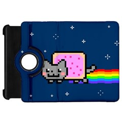 Nyan Cat Kindle Fire Hd Flip 360 Case