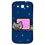 Nyan Cat Samsung Galaxy S3 S III Classic Hardshell Back Case Front