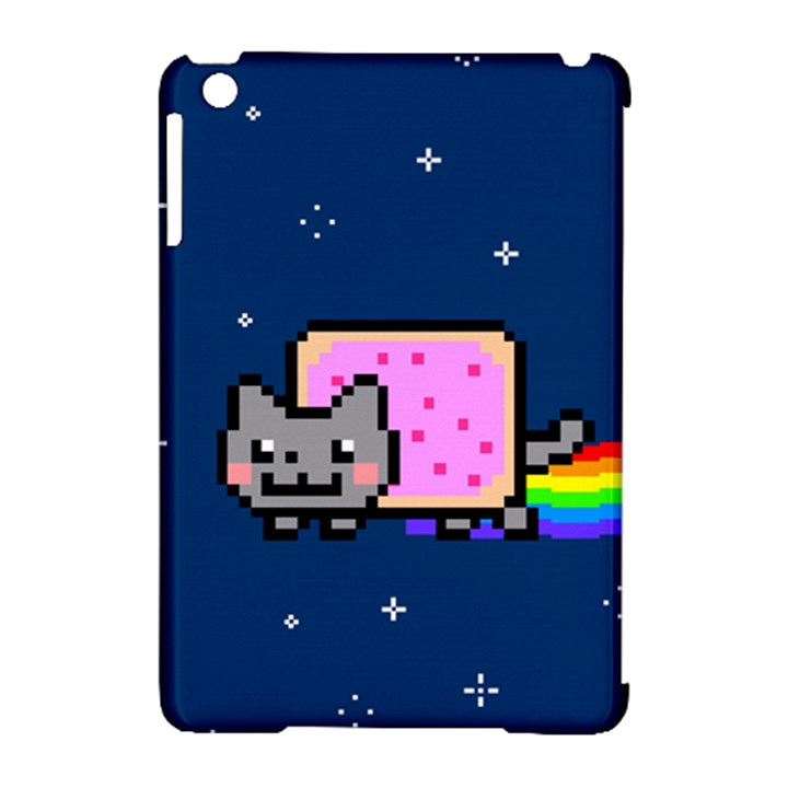 Nyan Cat Apple iPad Mini Hardshell Case (Compatible with Smart Cover)