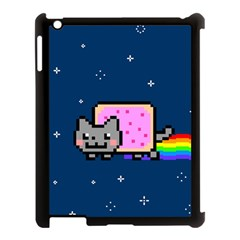 Nyan Cat Apple Ipad 3/4 Case (black)
