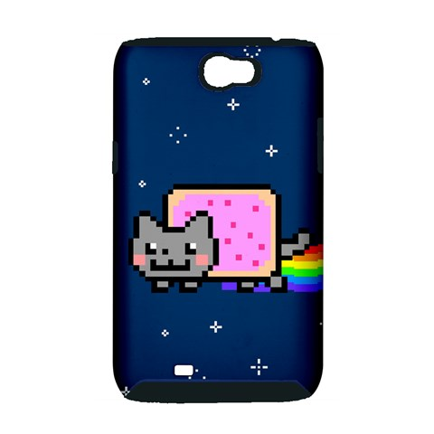 Nyan Cat Samsung Galaxy Note 2 Hardshell Case (PC+Silicone)