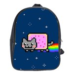 Nyan Cat School Bags (XL)  Front