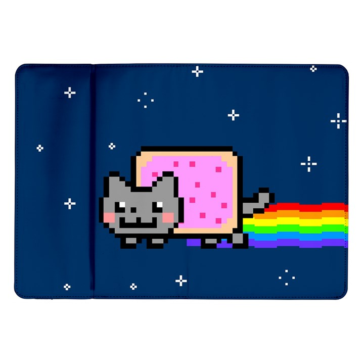 Nyan Cat Samsung Galaxy Tab 10.1  P7500 Flip Case