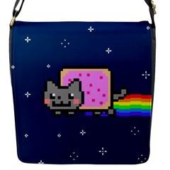 Nyan Cat Flap Messenger Bag (S)