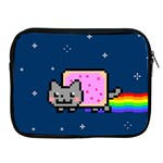 Nyan Cat Apple iPad 2/3/4 Zipper Cases Front