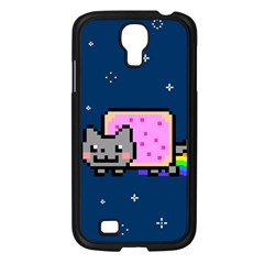 Nyan Cat Samsung Galaxy S4 I9500/ I9505 Case (Black)